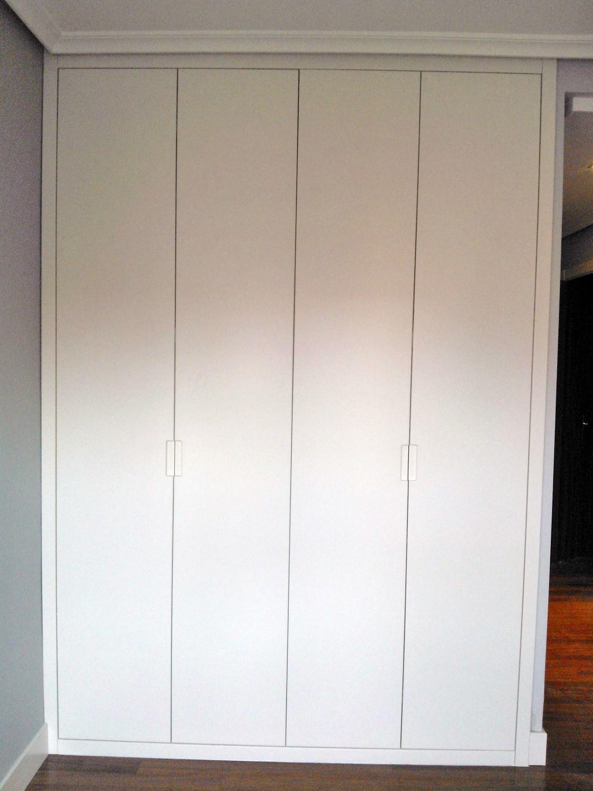 Carpinteria moncada proyectos - Armario puertas plegables ...